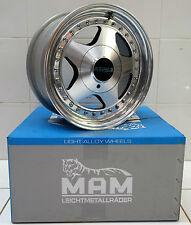 1x Original OZ Racing Fittipaldi 3-teilig 7Jx15 ET38 LK 4x108  57.1mm 08.705.AU2