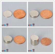"""14mm 9/16"""" dia N52 Rare Earth Neodymium Magnet Disc"""