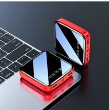 Mini 900000mAh Power Bank Dual USB Portable External Battery Backup Charger