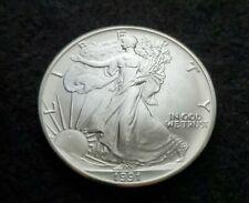Gem BU 1991 American Silver Eagle