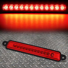 FOR 04-15 ARMADA/INFINITI QX56 HIGH MOUNT FULL LED 3RD TAIL BRAKE LIGHT LAMP RED