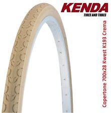 "Copertone Kenda 700x28 = 28x1-5/8x1-1/8 K193 Kwest Crema per bici 28"" City Bike"