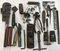 LOT OF VINTAGE JEWELER GUNSMITH Junk Drawer Jewelry Making Tool USA Machinist