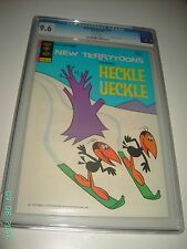NEW TERRYTOONS #25 CGC 9.6 NEAR MINT + 1974 WHITE PAGES GOLD KEY BLUE LABEL