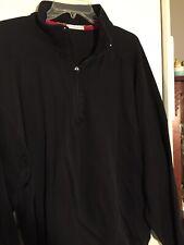 Mens Cutter and Buck Quarter Zip Long Sleeve Shirt Size XL