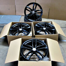 Fits Audi A4 A5 A6 A7 TT VW Rims 20 inch 1196 Style Wheels Satin Matte Black