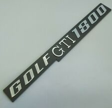 ⭐🇫🇷 NEUF MONOGRAMME GOLF GTI 1800 MK1 VW VOLKSWAGEN RABBIT NEW BADGE LOGO