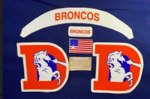 DENVER BRONCOS TB Full Size Helmet Decals/BUMPERS/ and Extras (VSR4 or SPEED)