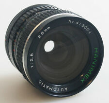 28MM F/2.8 FOR CANON FD GREAT FOR MICRO 4/3 CAMERAS SOLD AS IS FOR PARTS