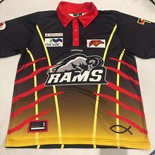 Riddell District Football League RAMS M Polo Shirt Indigenous Colourway Nice