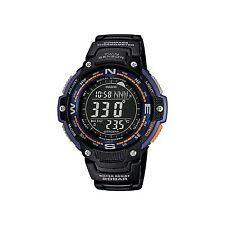 Casio Sgw100-2b Smart Watch - Wrist - Altimeter, Barometer, Digital Compass,