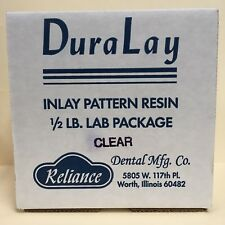 DuraLay INLAY PATTERN RESIN 1/2 LB  KIT - CLEAR