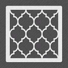 Mylar Plastic Tile Stencil for Floors Walls Tiles Decorations - MY00029