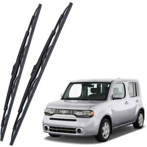 Genuine OEM Front Windshield Wiper Blades For 2009-2014 Nissan Cube Full Series