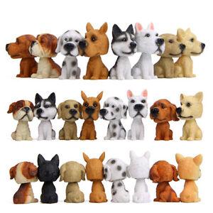 Bobblehead Puppy Nodding Dog Shake Head Toys Car Furnishing Dashboard Decor