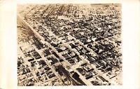 Billings Montana~Aerial View Downtown~1941 Real Photo Postcard~RPPC