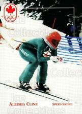 1992 Canadian Olympic Hopefuls #154 Aleisha Cline
