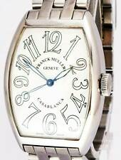 Franck Muller Casablanca Steel White Dial Mens Automatic Watch 5850