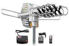 Best Long Range Outdoor HD-TV Antenna Digital Amplified Rotating Motor WA2608A