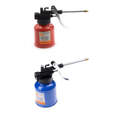 High Pressure 250ml Lubrication Feed Oil Can Spray Gun Pot Pump Action Oiler OP