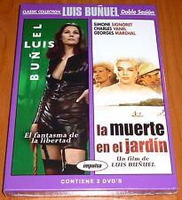 EL FANTASMA DE LA LIBERTAD + LA MUERTE EN EL JARDIN - Luis Buñuel - Precintada