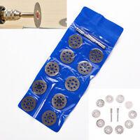 10x/set 22mm Metal Circular Saw Disc Wheel Blades Cut off Dremel Rotary Tool