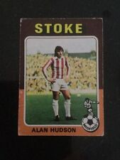 Stoke City Football Trading Cards & Stickers (1975 Season