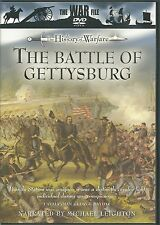 THE BATTLE OF GETTYSBURG DVD - THE WAR FILE