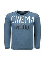bellybutton Mini Boys Shirt langarm gr. 80  CINEMA MOOD open blue melange