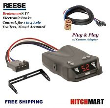 REESE TRAILER BRAKE CONTROL w ADAPTER FOR 99-02 SILVERADO SIERRA 1500 2500 83504