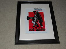 "Framed Magnum Force Dirty Harry 1973 Mini-Poster, USA Alternate Print 14""x17"""
