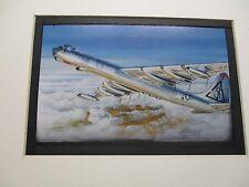 Convair B 36 Peacemaker  Revell  Model Airplane Box Top Art Color  artist G2