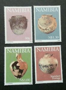 [SJ] Namibia Early Pastoral Pottery 1996 Art Culture Vase Antique (stamp) MNH