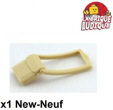 Lego - 1x Minifig utensil sac à main bag sacoche beige/tan 61976 NEUF