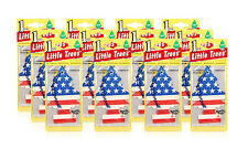 Little Trees Hanging Car and Home Air Freshener, Vanilla Pride Scent -Pack of 12