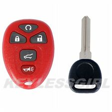 New Red Remote Start Keyless Entry Fob Clicker Control Power 15913415 With 46Key