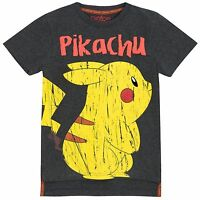 Pokemon T-Shirt | Boys Pokemon Top | Pokemon Pikachu Short Sleeve Tee | New