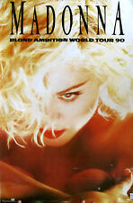 Rare Madonna Blond Ambition Tour Book Winterland Boy Toy Poster Express Yourself