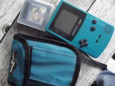 Game boy color Nintendo + jeu game watch gallery 2 + Pochette