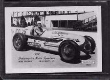 1952 INDIANAPOLIS MOTOR SPEEDWAY JIM ROBBINS SPECIAL MIKE NAZARUK PHOTO EX/MT