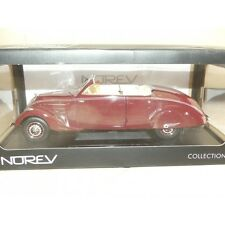 PEUGEOT 402 ECLIPSE 1937 Bordeaux NOREV 1:18
