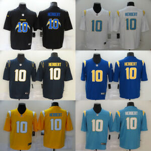 NEW HOT Los Angeles Chargers #10 Justin Herbert Series Men' fan Stitched Jersey