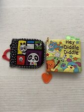 Playtex Baby Hey Diddle Diddle Crinkle Book Teething Toddler Toy /other