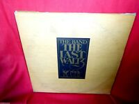 THE LAST WALTZ Triple LP + Booklet ITALY 1978 EX+ The Band Bob Dylan Neil Young