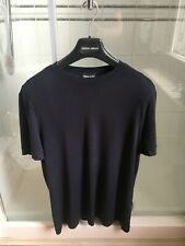 Giorgio Armani Black Label Luxury T-Shirt Size 50 Medium RRP £480