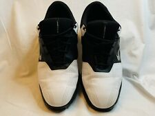 Nike Men's Sz 11.5 Heritage Golf Shoes Low Black & White 336040-101 Cleats