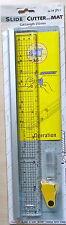 Impex diapositiva CUTTER and cutting mat-CUT LENGTH 310mm con lame di ricambio