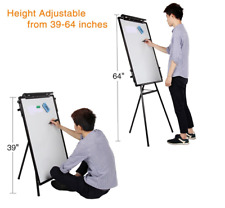 Professional Adjustable 24 x 36 Tripod Whiteboard Magnetic Standing Office Home
