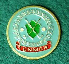 "_RARE_  TUNMER  1"" Golf Ball Marker"