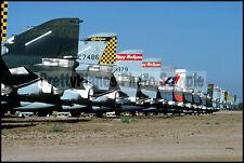US ANG McDonnell F-4 Phantom Boneyard 1990 8x12 Photo
